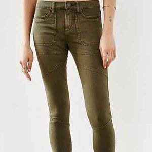 BDG Urban Outfitters Olive Green Skinny Pants